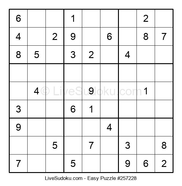 Beginners Puzzle #257228