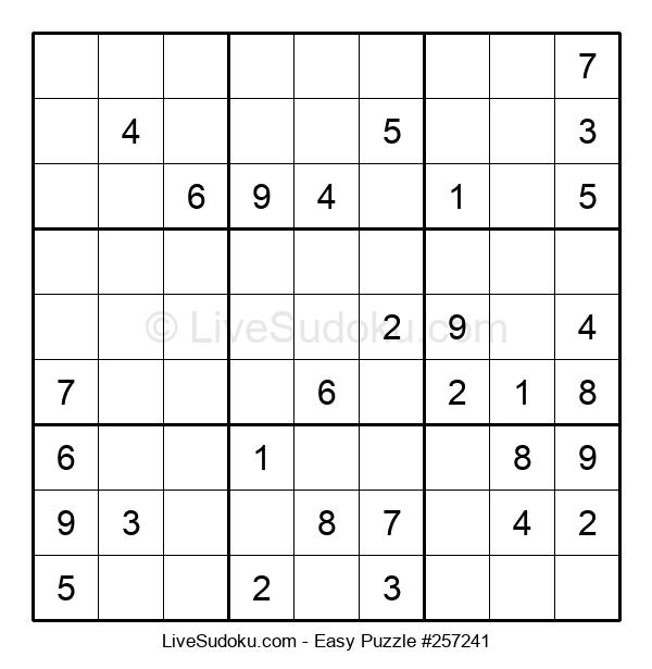 Beginners Puzzle #257241
