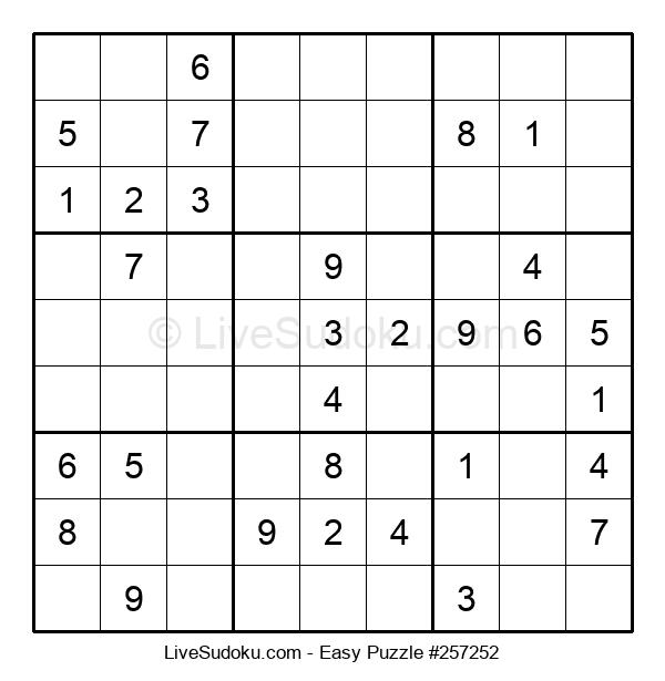 Beginners Puzzle #257252