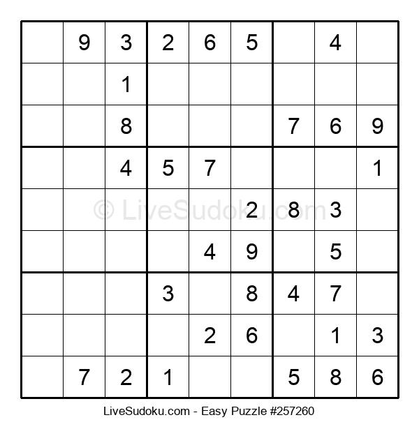 Beginners Puzzle #257260