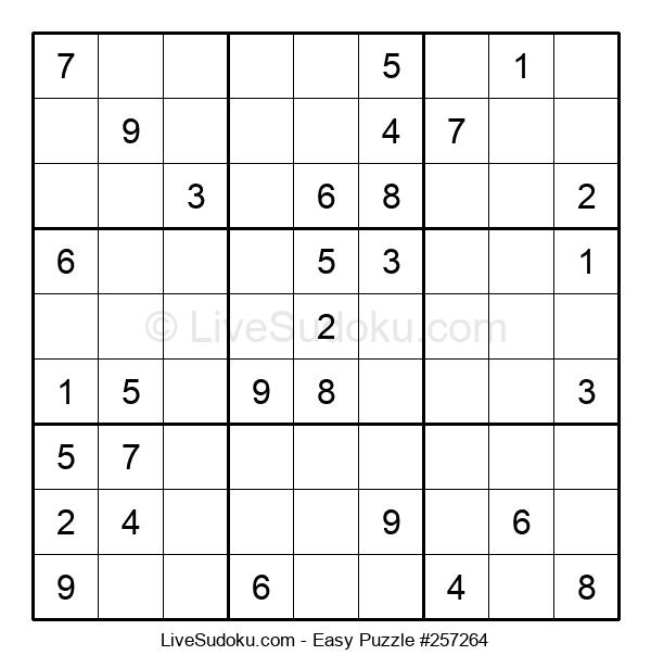 Beginners Puzzle #257264