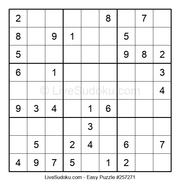 Beginners Puzzle #257271