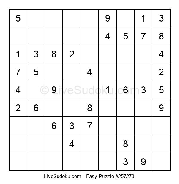 Beginners Puzzle #257273