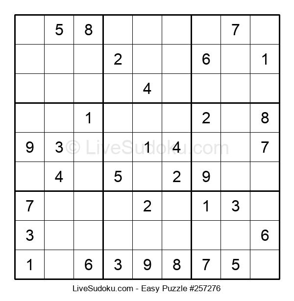 Beginners Puzzle #257276