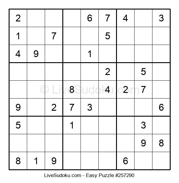 Beginners Puzzle #257290