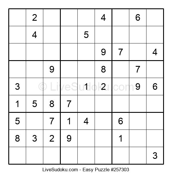 Beginners Puzzle #257303