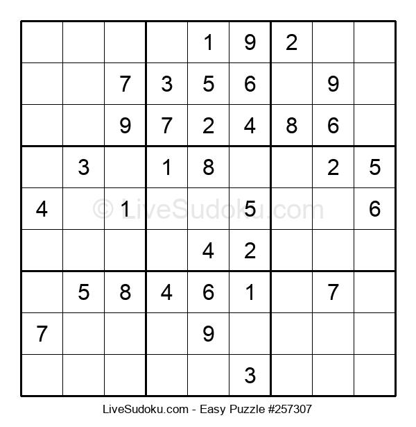 Beginners Puzzle #257307