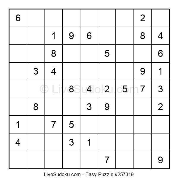 Beginners Puzzle #257319