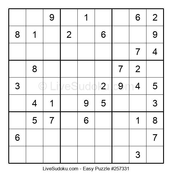 Beginners Puzzle #257331