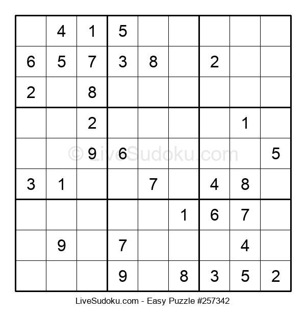 Beginners Puzzle #257342