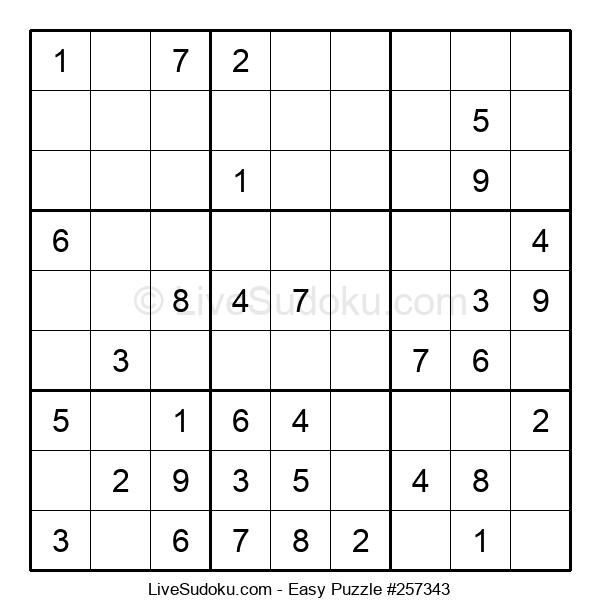 Beginners Puzzle #257343