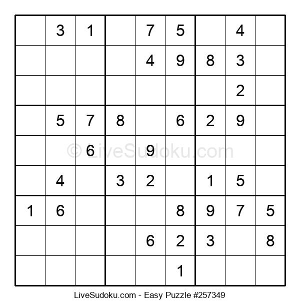 Beginners Puzzle #257349