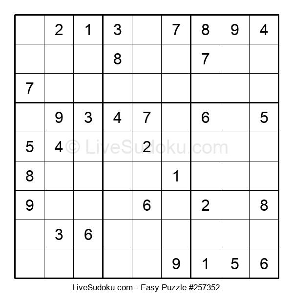 Beginners Puzzle #257352