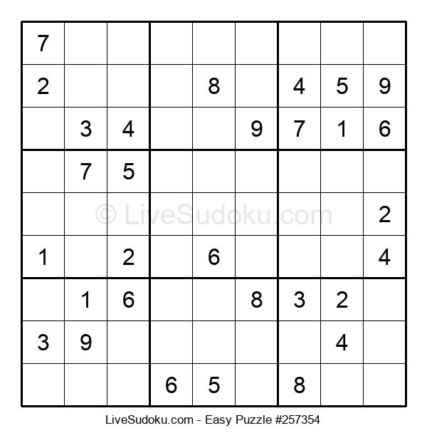 Beginners Puzzle #257354