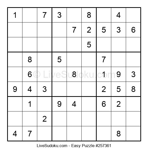 Beginners Puzzle #257361
