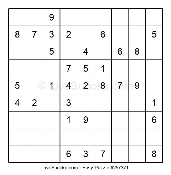 Beginners Puzzle #257371