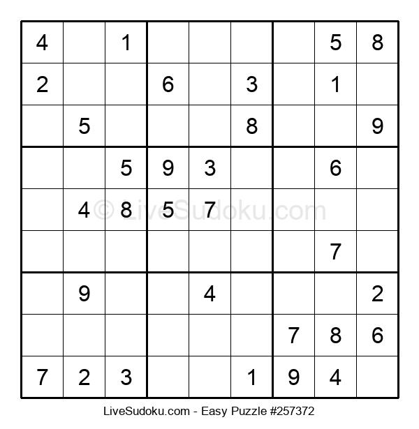 Beginners Puzzle #257372