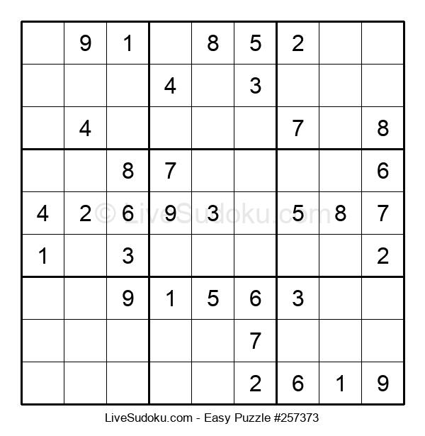 Beginners Puzzle #257373