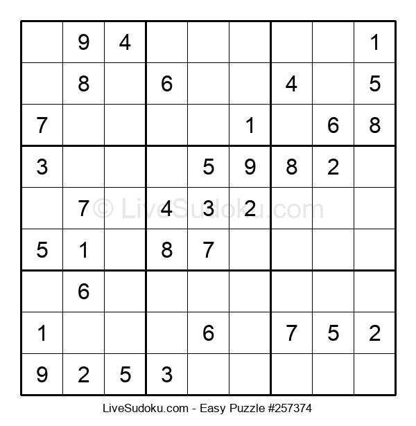 Beginners Puzzle #257374