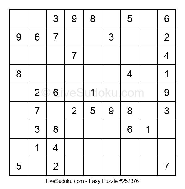 Beginners Puzzle #257376