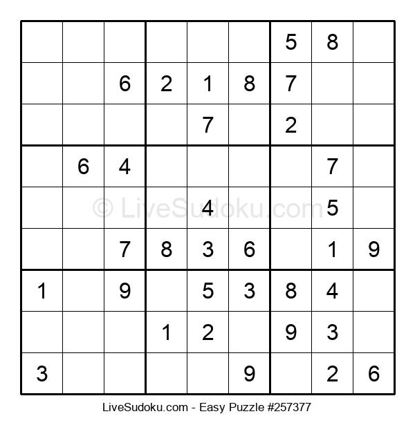 Beginners Puzzle #257377