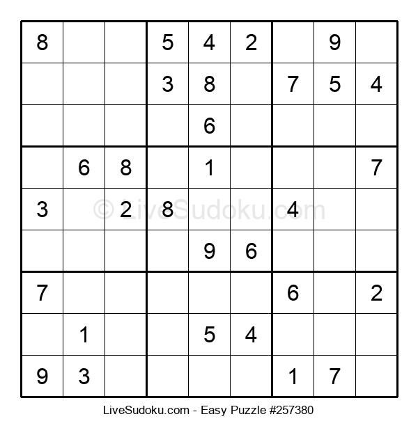 Beginners Puzzle #257380