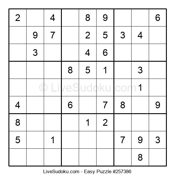 Beginners Puzzle #257386