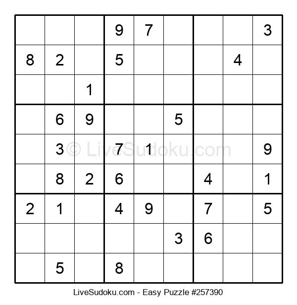 Beginners Puzzle #257390