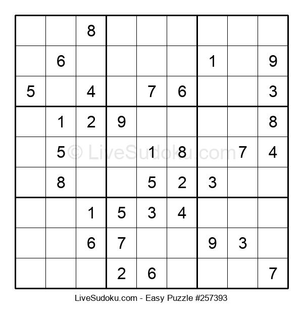Beginners Puzzle #257393