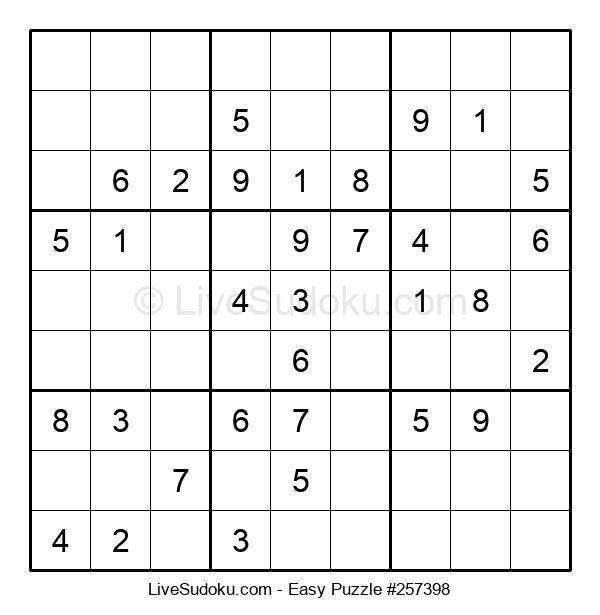 Beginners Puzzle #257398