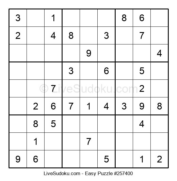 Beginners Puzzle #257400