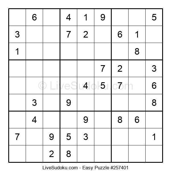 Beginners Puzzle #257401