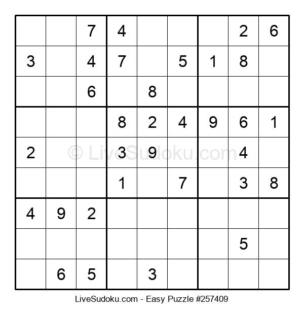 Beginners Puzzle #257409