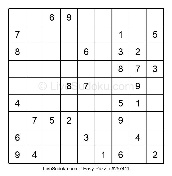 Beginners Puzzle #257411