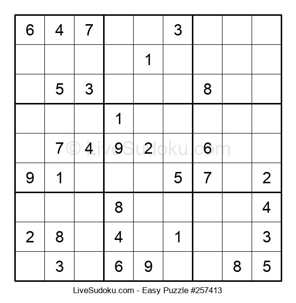 Beginners Puzzle #257413