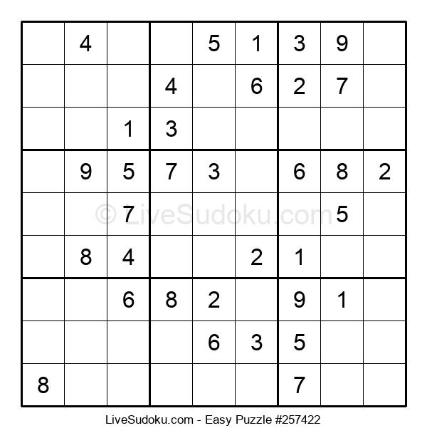 Beginners Puzzle #257422