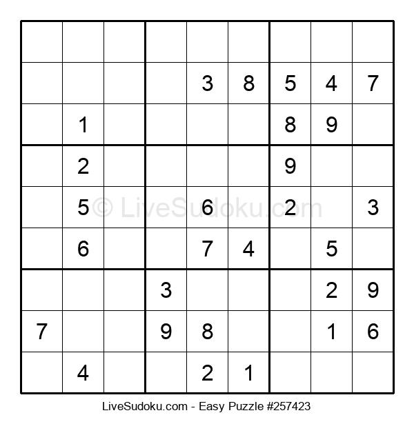 Beginners Puzzle #257423