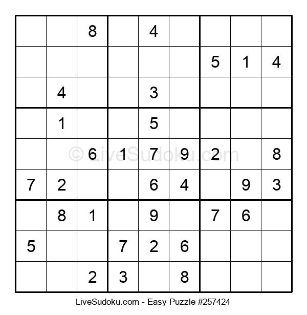 Beginners Puzzle #257424