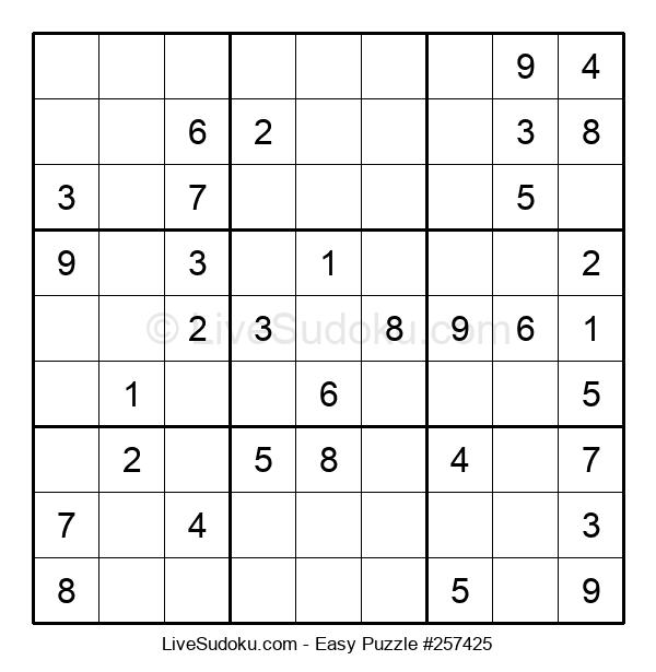 Beginners Puzzle #257425