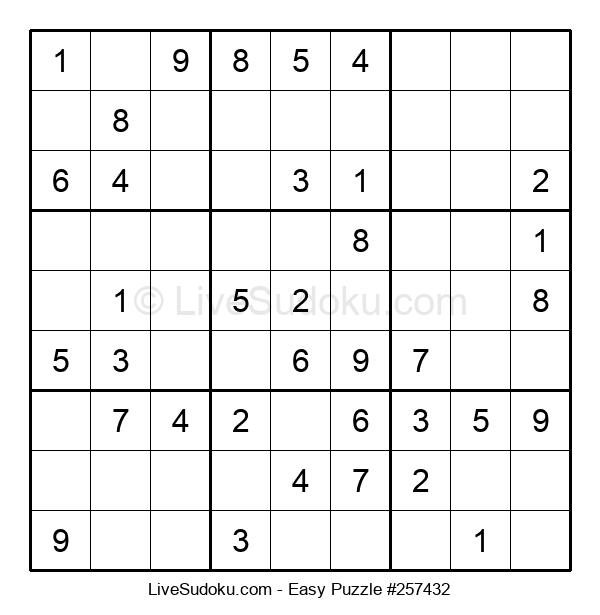 Beginners Puzzle #257432