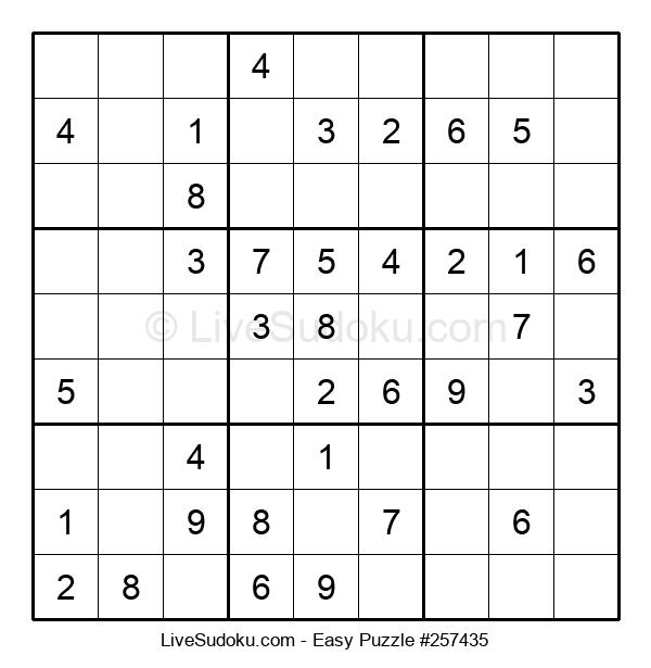 Beginners Puzzle #257435