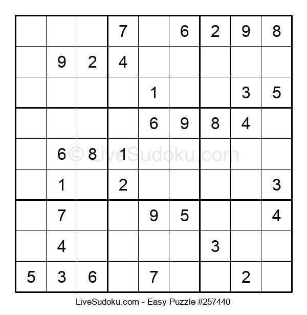 Beginners Puzzle #257440