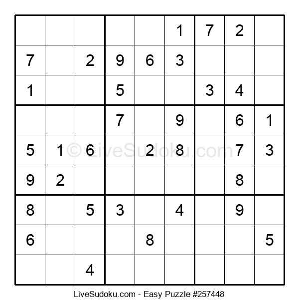 Beginners Puzzle #257448