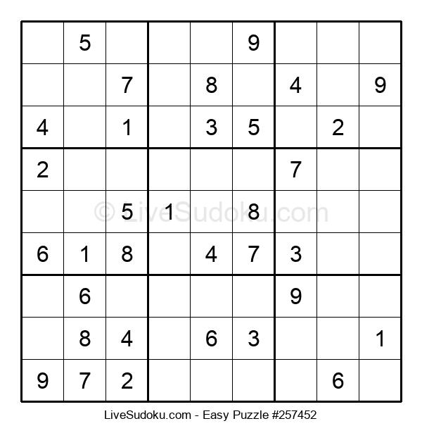 Beginners Puzzle #257452