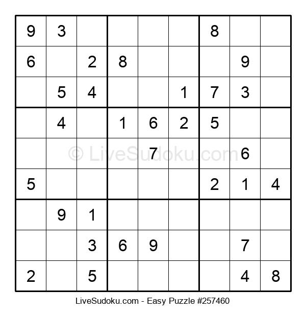 Beginners Puzzle #257460