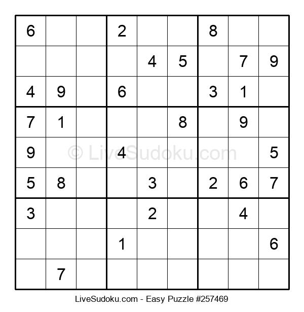 Beginners Puzzle #257469