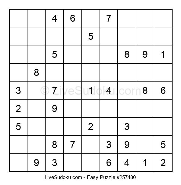 Beginners Puzzle #257480