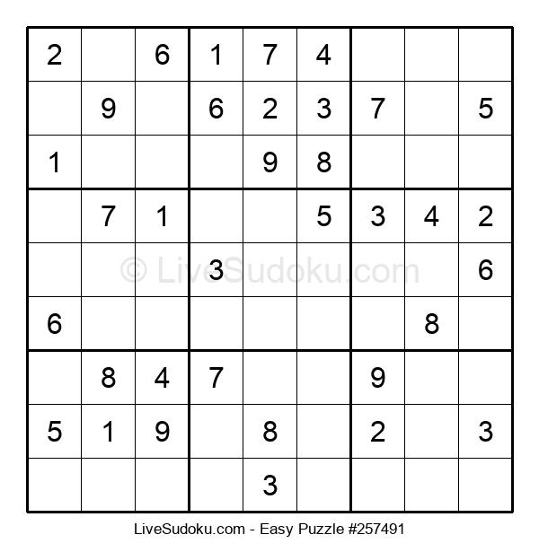 Beginners Puzzle #257491