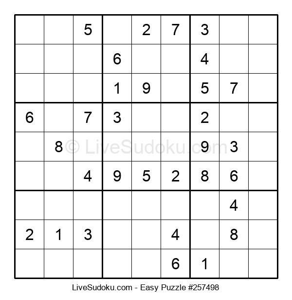 Beginners Puzzle #257498