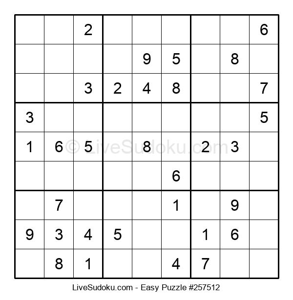 Beginners Puzzle #257512